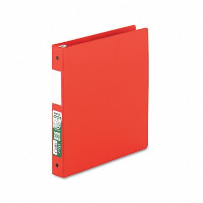 Antimicrobial locking round ring binder for 11 x 8-1/2 sheets, 1 cap., red - Buy Antimicrobial locking round ring binder for 11 x 8-1/2 sheets, 1 cap., red - Purchase Antimicrobial locking round ring binder for 11 x 8-1/2 sheets, 1 cap., red (Samsill, Office Products, Categories, Office & School Supplies, Binders & Binding Systems, Binders, Ring Binders, Round Ring Binders)