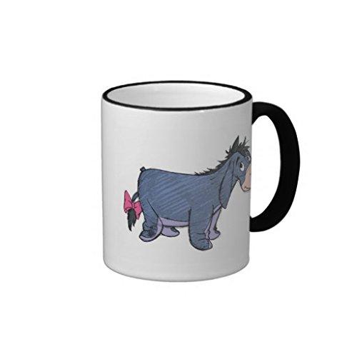 Winnie The Pooh Eeyore Sketch View Mug