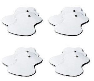 Snapon Electrode Pads for Digital Therapy Massager (Set of 8)