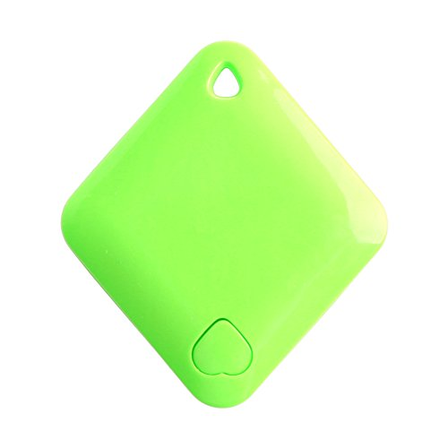 MEXUD-Smart Diamond Bluetooth Anti-lost Tracer Pet Child Alarm Wallet Key Finder New (Green, 1#) (Report Lost Package compare prices)