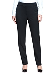 M&S Collection Angled Seam Slim Leg Trousers