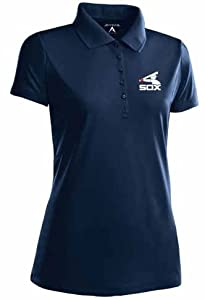Chicago White Sox Ladies Pique Xtra Lite Polo Shirt (Cooperstown) by Antigua