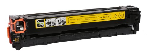 HP High Capacity Compatible YELLOW CE322A (HP 128A) Toner Cartridge Compatible with HP Color LaserJet CM1415fnw, Color LaserJet CP1525nw, Color LaserJet Pro CP1525nw Color Laser Toner Cartridge Ink ©