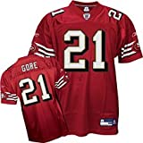 Reebok Youth San Francisco 49ers Frank Gore Replica Jersey,Red,Small