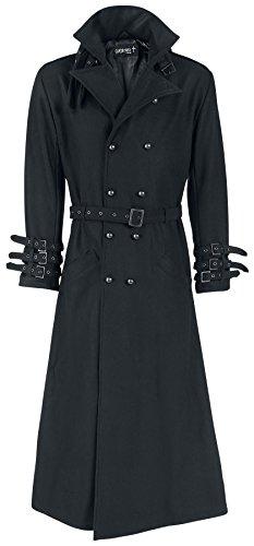 Gothicana by EMP Black Rider Coat Cappotto nero XXL