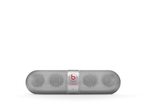 Beats Pill Portable Speaker (Silver)