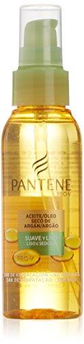Pantene Pro-V olio secco soffice e piatto trattamento con olio di argán 100 ml