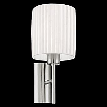 60W 1 Light Fabric Wall Light in White Shade Home Improvement Huge Discount - Amazon big promotion