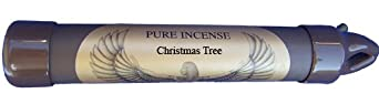 Christmas Tree - PURE Incense NEW to Amazon! Burns twice as long as other incense - CORELESS!! nothing to provoke allergies (25-30 sticks) Christmas Tree is the sweet smell of evergreen and forest - a Holiday must have!