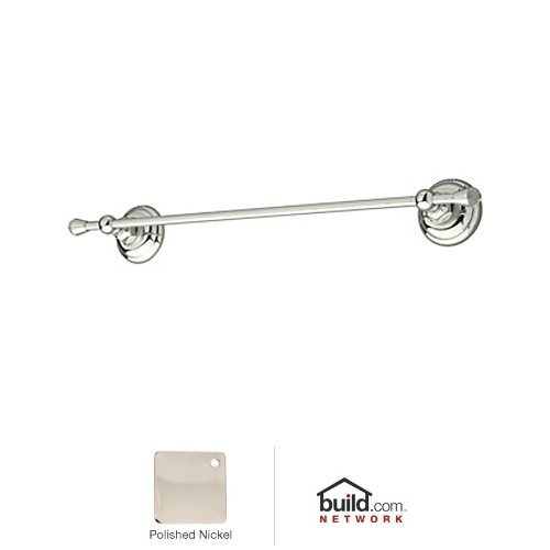 Rohl A1483CPN Country Bath Towel Bar with Swarovski Crystal Accents, 12