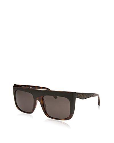 Diesel Men's Square Havana Sunglasses, Black