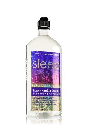 バス&ボディワークス アロマセラピー スリープ ハニーバニラ ドリームウォッシュ&フォームバス Aromatherapy Sleep Honey Vanilla Dream Body Wash & Foam Bath