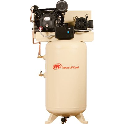 - Ingersoll Rand Type-30 Reciprocating Air Compressor - 7.5 HP, 230 Volt 1 Phase, Model# 2475N7.