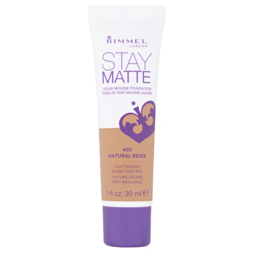 Rimmel Stay Matte, Fondotinta, Natural Beige