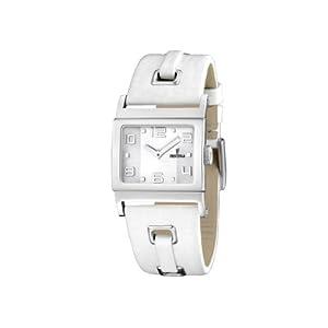 Festina - F16475/1 - Montre Femme - Quartz - Analogique - Bracelet Cuir Blanc