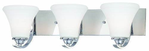 Thomas Lighting SL71334 Tyler 3 Light Bath Light, Chrome (Tyler Ceiling Fan compare prices)