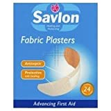 THREE PACKS of Savlon Assorted Plasters Fabric