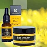 Organic Bee Venom Face Mask and Bee Venom Eye Serum pack