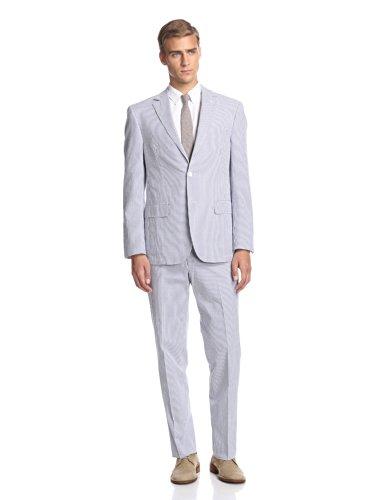 Flynt Men's Bourne Seersucker Suit