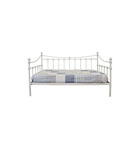 Sofá cama de forja Alfil - Gris Alcántara patinado