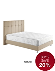 Modern Button Bedstead