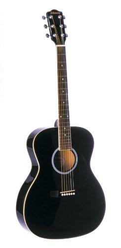 best buy johnson jg 420 b 000 style acoustic guitar black on sale guitars. Black Bedroom Furniture Sets. Home Design Ideas