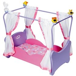 Baby Born Doll Canopy Bed front-693493
