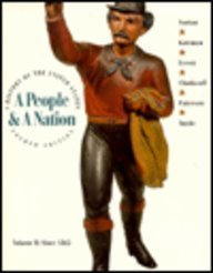 A People & A Nation (VII since 1865) by Mary Beth Norton (1994-01-01)