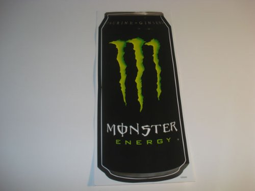 2 Monster Energy Drink BIG CAN Decals Stickers
