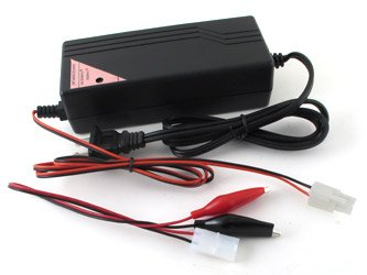 Tenergy Smart Charger for 37V 10-Cell 2A Li-ion/LIPO Battery Pack w/ Tamiya or Anderson Connector