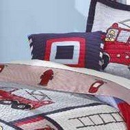 Pem America My World 16-Inch Fireman Pillow front-928382