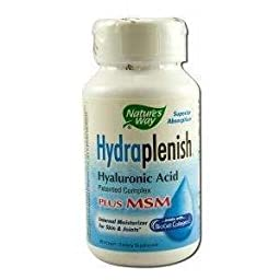 NATURE\'S WAY HYDRAPLENISH W/MSM, 60 VCAP
