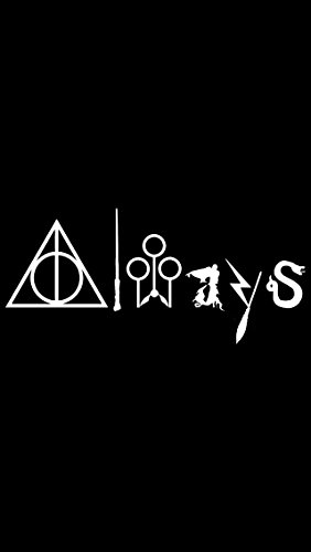 Always Harry Potter WHITE Vinyl Car/Laptop/Window/Wall Decal, Model: , Electronic Store (Zombie Laptop Decal compare prices)