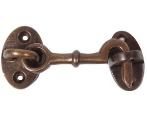 Cabin Hook Antique Brass