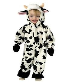 Infant Cuddly Cow Costume 6-12 months