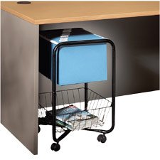 Buy RUB14390 – File Cart, For Letter Files, 15-5/8x26x24-1/2, Black