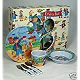 Emma Ball Pirates 6 piece feeding set for babiesby Elite Gift Boxes