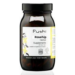 Rosehip Capsules, Organic, 60 Caps