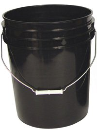 5 Gallon Bucket (Black)