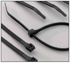 "Sure Fire 23007Uv/C 14"" Heavy Duty Black Cable Ties. 100 Per Bag"