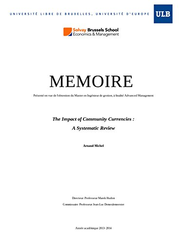 Couverture du livre The Impact of Community Currencies : A Systematic Review