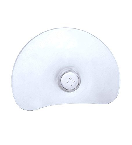 Nipple Shield Protector Eases Breast Feeding / Natural Fit Ultra Soft, Flexible, Safe, Odorless, Tasteless Silicone Gel is Latex Free, Nitrosamine Free, Phthalate Free, BPA Free, and PVC Free / Provides Relief from Sore, Cracked or Sensitive Nipples for Nursing Mothers / Comfortable Unique Design Fits Perfectly and Provides Maximum Skin Contact Between Mom and Baby / Helps Babies with Latch-On Difficulties, or Flat or Inverted Nipples / 1 Set of 2 Nipple Shields with Case
