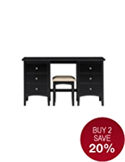 Hastings Dressing Table & Stool Set