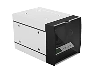 The Expandable Automatic Watch Winder w/Digital LCD Dispaly, w/Japanese Mabuchi motor (White)