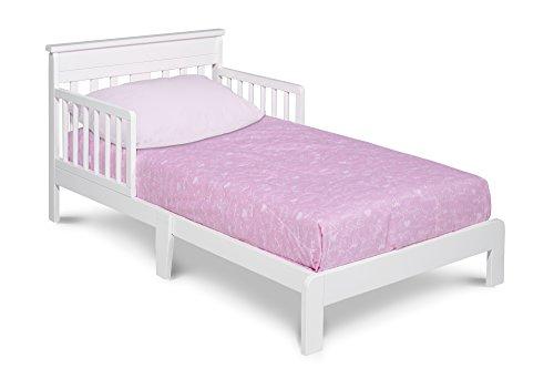 Delta Children Scottsdale Toddler Bed, White
