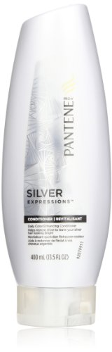 Pantene Silver Expressions Daily Color Enhancing Conditioner 13.5 Fl Oz (Pack of 2)