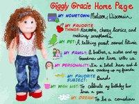 TY Beanie Bopper - GIGGLY GRACIE