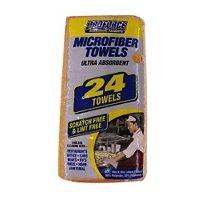 Proforce Microfiber Towels - Orange - 24 Ct.