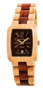 Tense Mens Maple Sandalewood Day Time Watch J8102Ms Df Gold