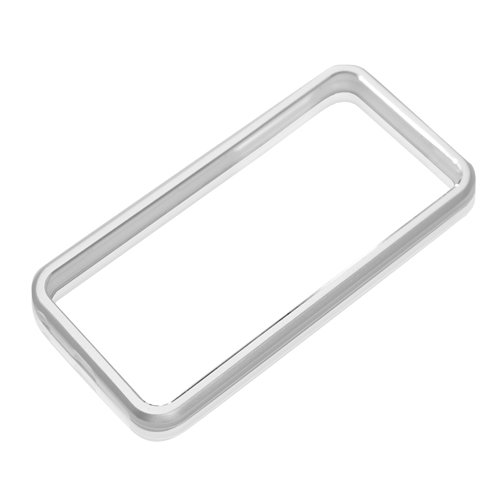 PGA iPhone5対応アルミバンパー シルバー PG-IP5BP01SV